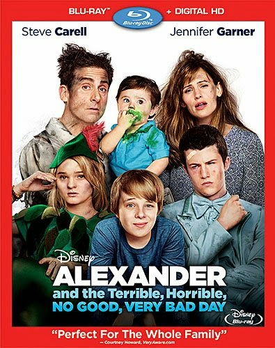 Alexander and the Terrible, Horrible, No Good, Very Bad Day (2014) Poster