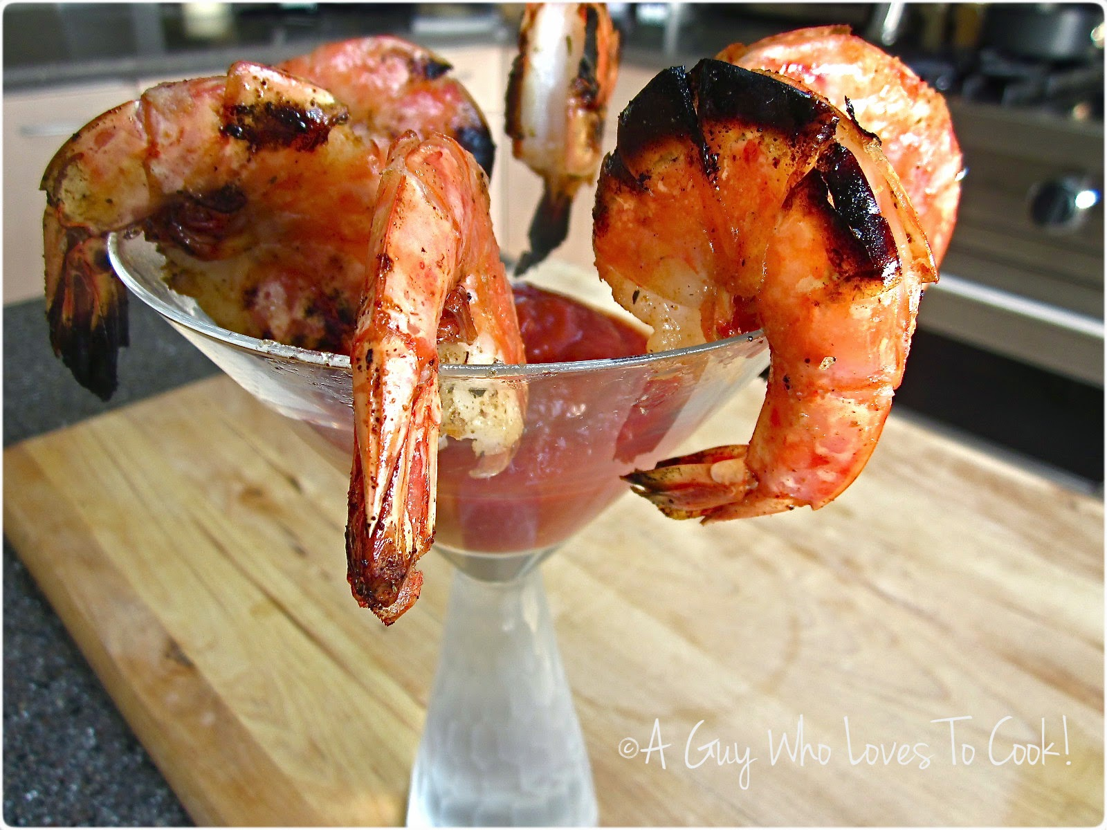 Broiled Shrimp Cocktail