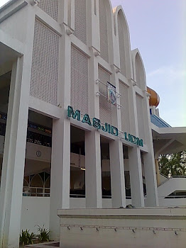 Masjid UniSZA from the front