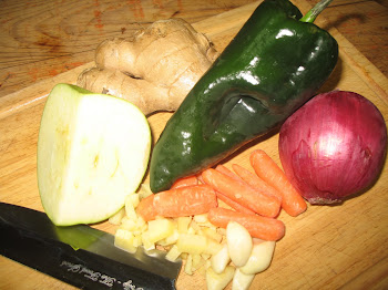 Fresh Ingredients for Curried Pork Stew