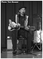 Studebaker John (John Grimaldi) on guitar - Photo by Tom Bowser