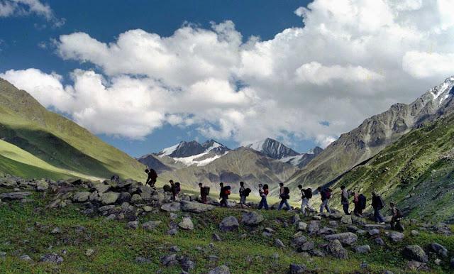 ":Trekking,Shimla"""