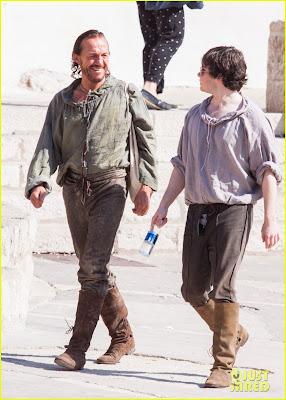 Bronn rodaje tercera temporada Juego de Tronos - Juego de Tronos en los siete reinos