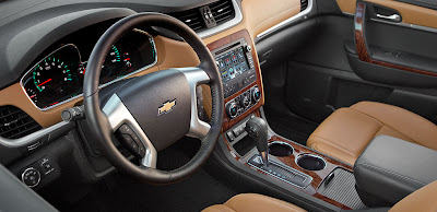 2014 Chevrolet Traverse SUV Interior