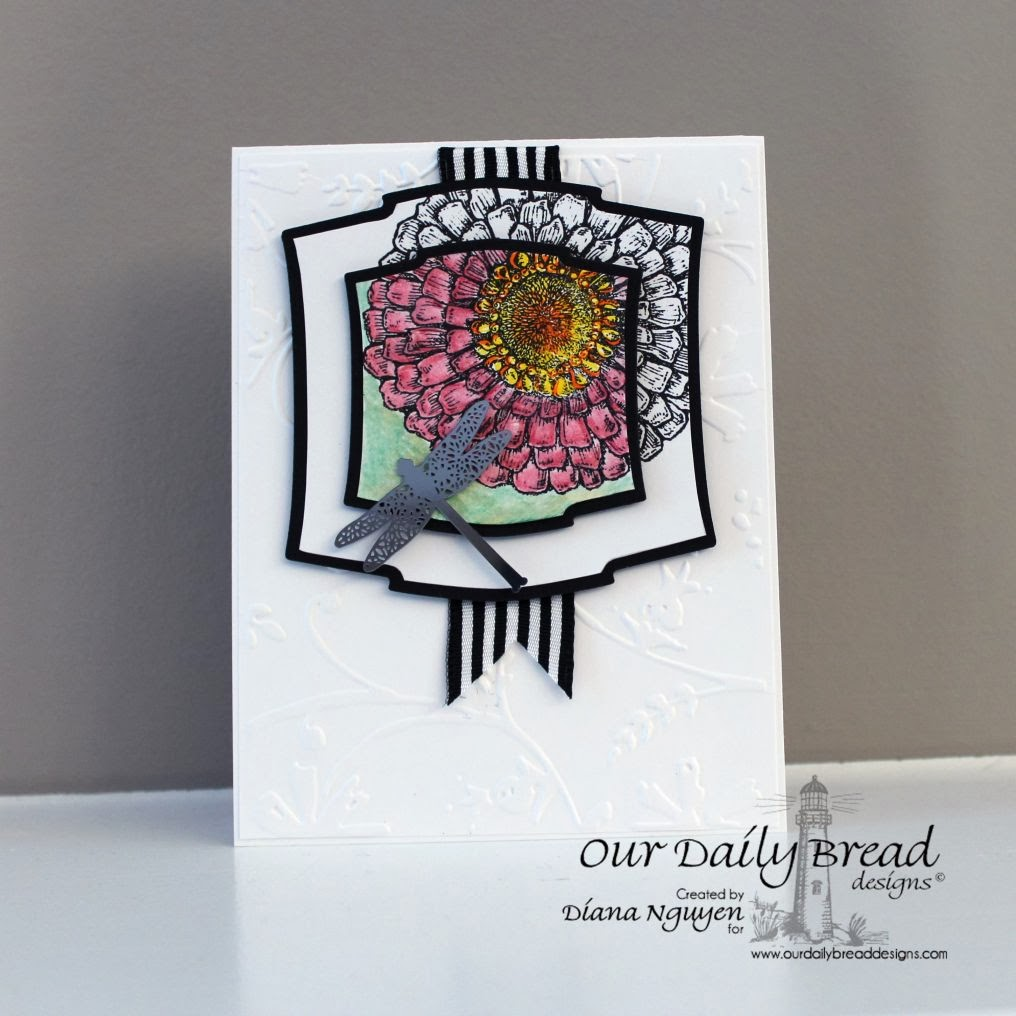 Diana Nguyen, Zinnia, Our Daily Bread Designs, handmade card