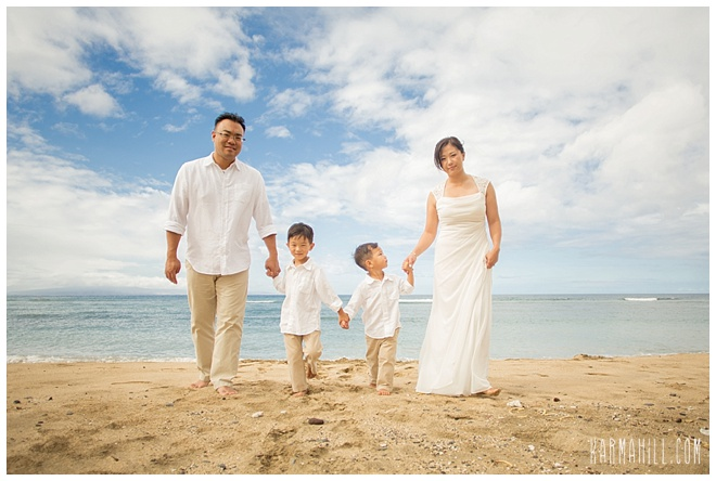 Maui Family Portrait
