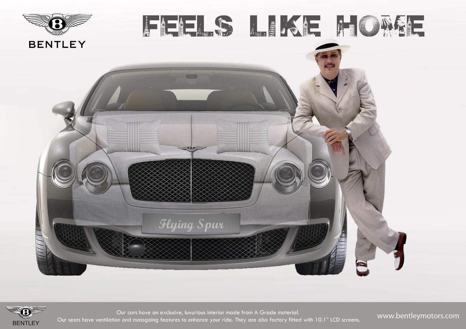 Media Learning Blog Bentley Advert By Haris Ahmed