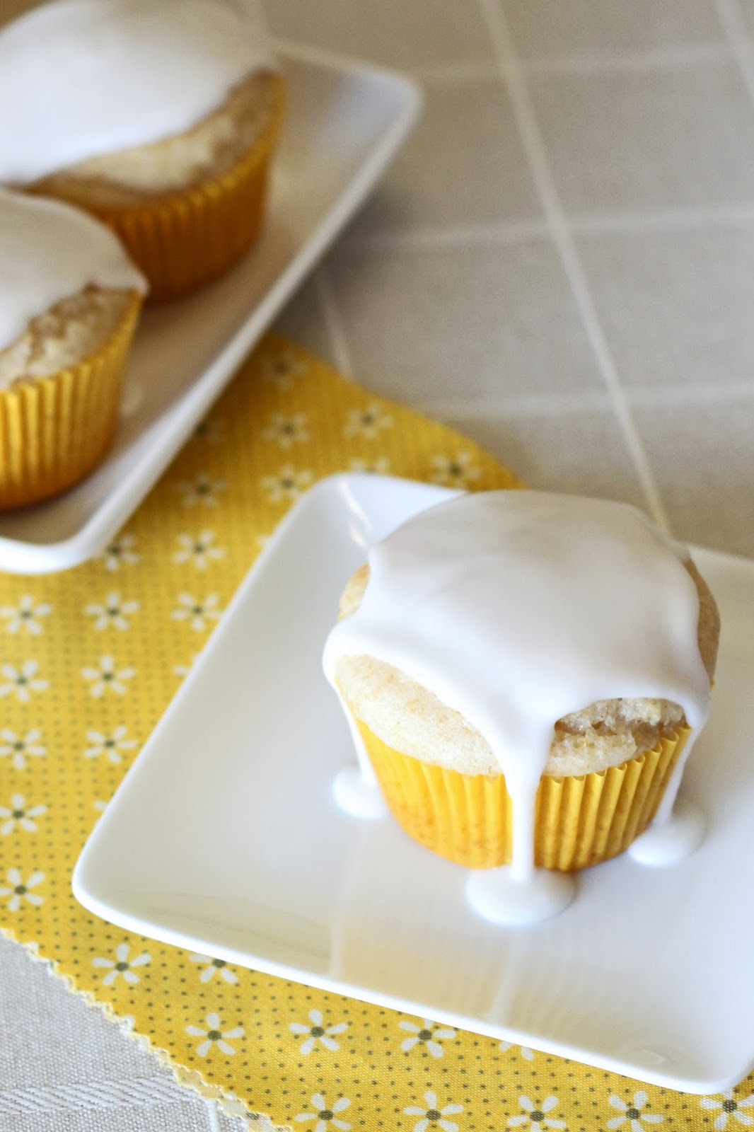 guest post...gluten free vegan glazed lemon muffins ...