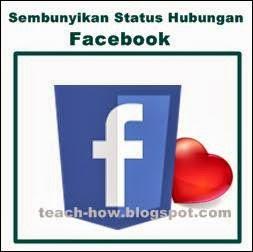 menyembunyikan status relationship