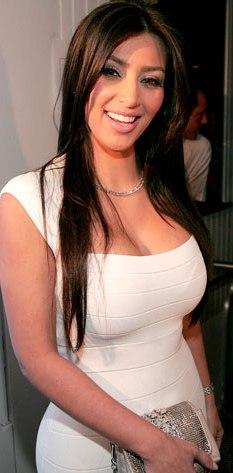 Kim Kardashian radiante de felicidad