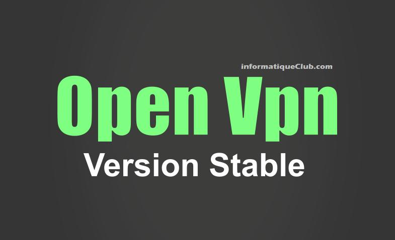 شرح برنامج Openvpn نسخة stable و طريقة تغيير ملف Config