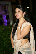 Anasuya sizzling photos in saree-thumbnail-6