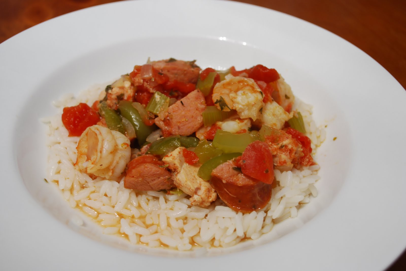 Cooking This and That: Slow Cooker Jambalaya