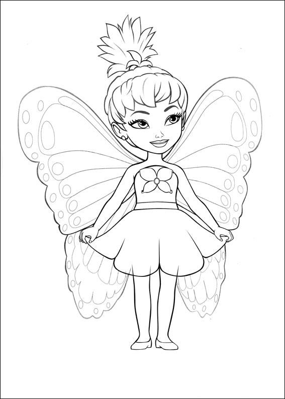barbie kelly coloring pages - photo#34