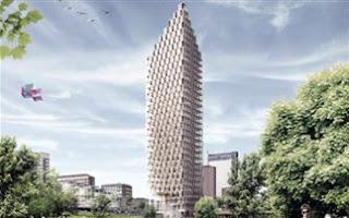 Ουρανοξύστης από… ξύλο!