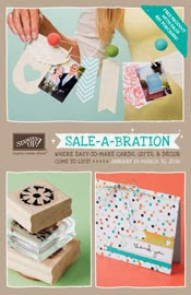 It is Sale-a-bration time!  Click on the catalog to see what is inside of it!