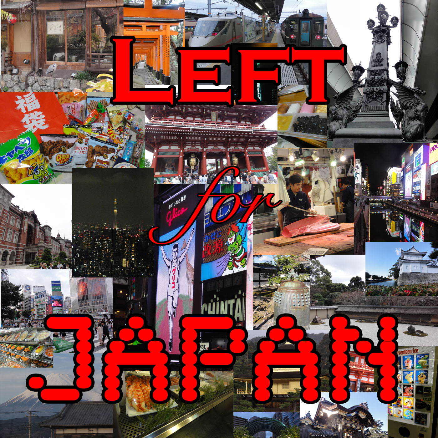 Left for Japan