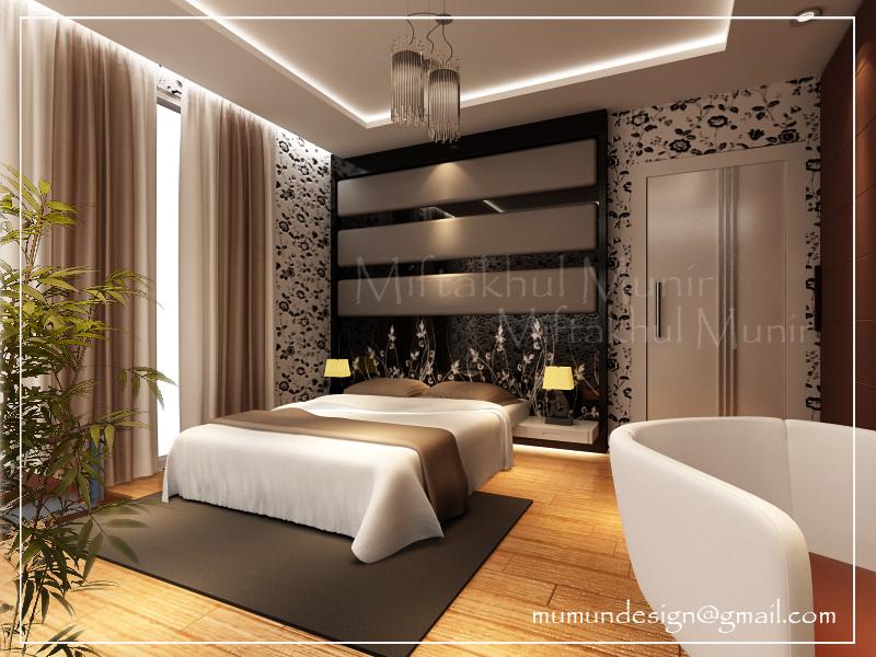 Foto desain rumah minimalis modern for Design interior apartemen 1 bedroom