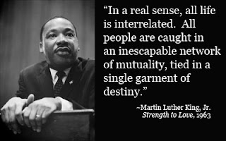 an analysis of the three ways of responding to oppression by martin luther king jr Martin luther king jr illustrates strategically how oppressed people deal with the  three types of oppression, which are: acquiescence, violence, and non violence   nonviolence is the answer to the racial, political and moral.