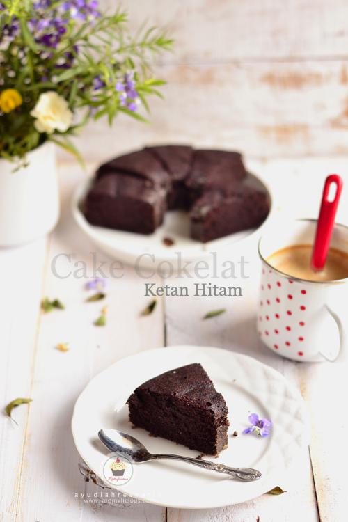 Cake Cokelat Ketan Hitam