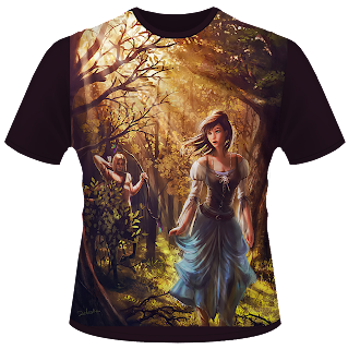 the dark foret t-shirt design
