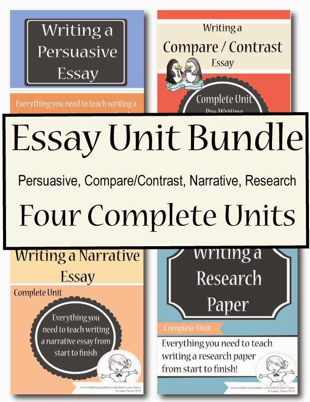 http://www.teacherspayteachers.com/Product/Essay-Writing-Bundle-1359702
