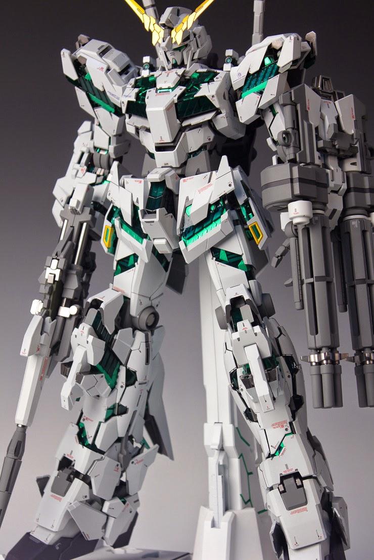 unicorn gundam led custom