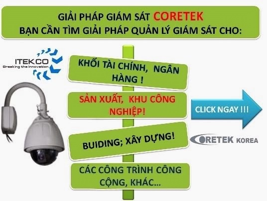 Website Camera quan sat Itekco