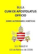 Acerca del peligro de autoridades heréticas y la falsa elección de un Papa