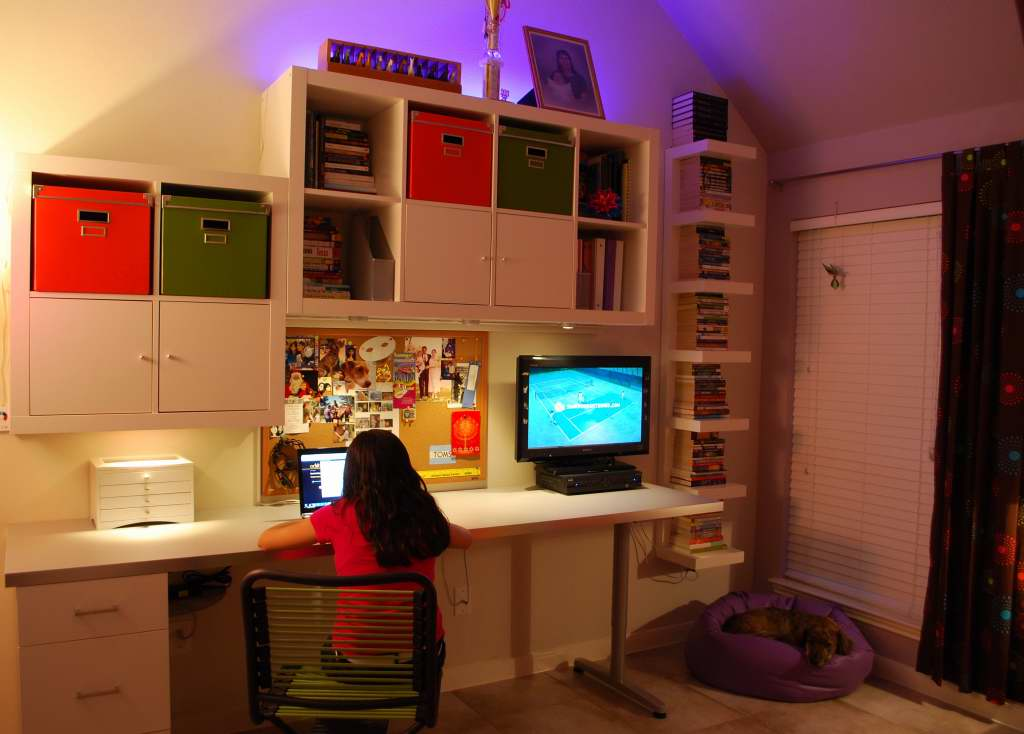 Cool Teen Room HOME Cool Teen Bedroom Workstation