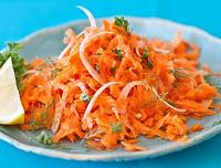 Salada Francesa de Cenoura (vegana)