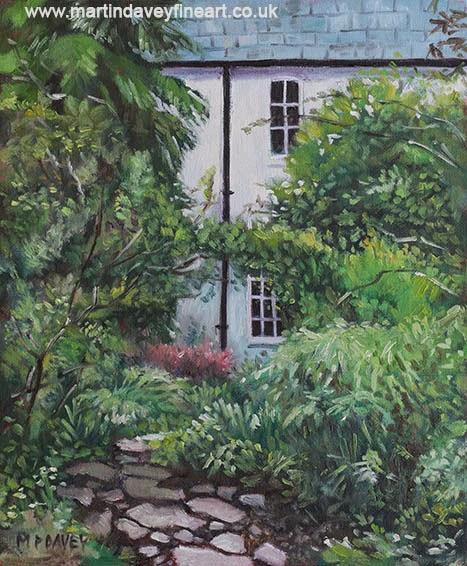 artist martin davey Hillier gardens house hampshire
