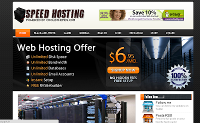 Speed Hosting Blogger Templates