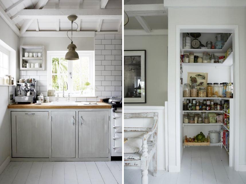 Il bianco e le sue mille sfumature shabby chic interiors - Idee cucina piccola ...