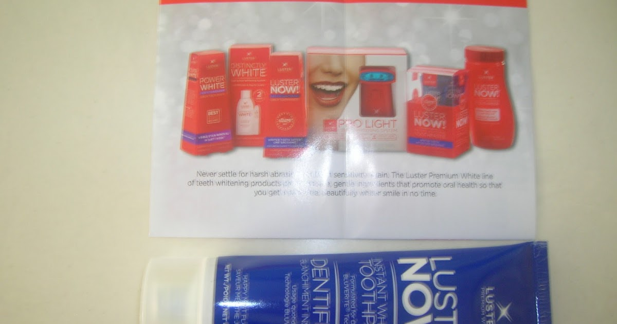 Durhamonthecheap Product Review Luster Now Instant Whitening