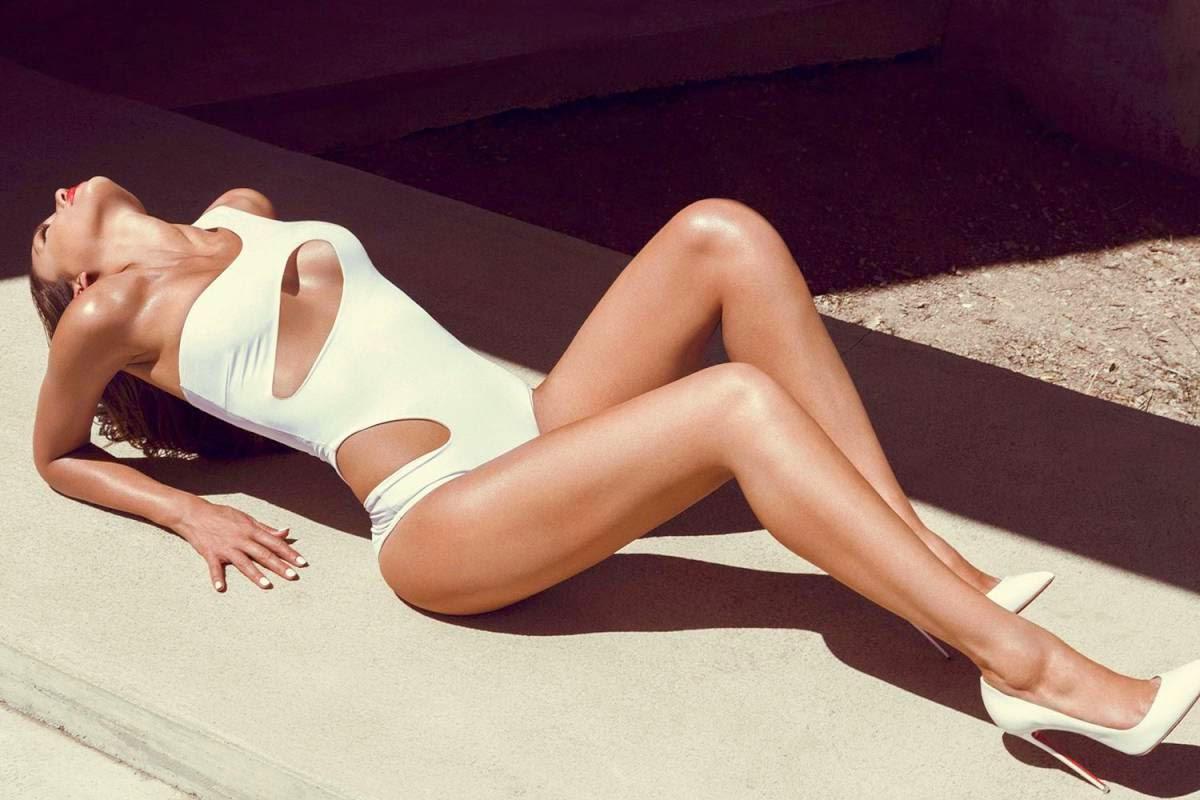 Jessica Alba GQ UK Magazine Swimsuit Photoshoot (August 2014)