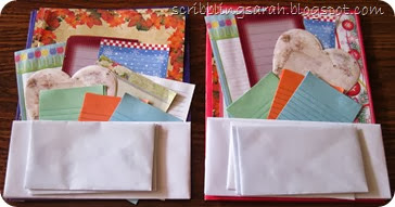 Letter Writing Kit for Operation Christmas Child Shoe Box