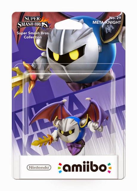 JUGUETES - NINTENDO Amiibo - 29 : Figura Metal Knight   (20 Febrero 2015) | Videojuegos | Muñeco | Super Smash Bros Collection  Plataforma: Wii U