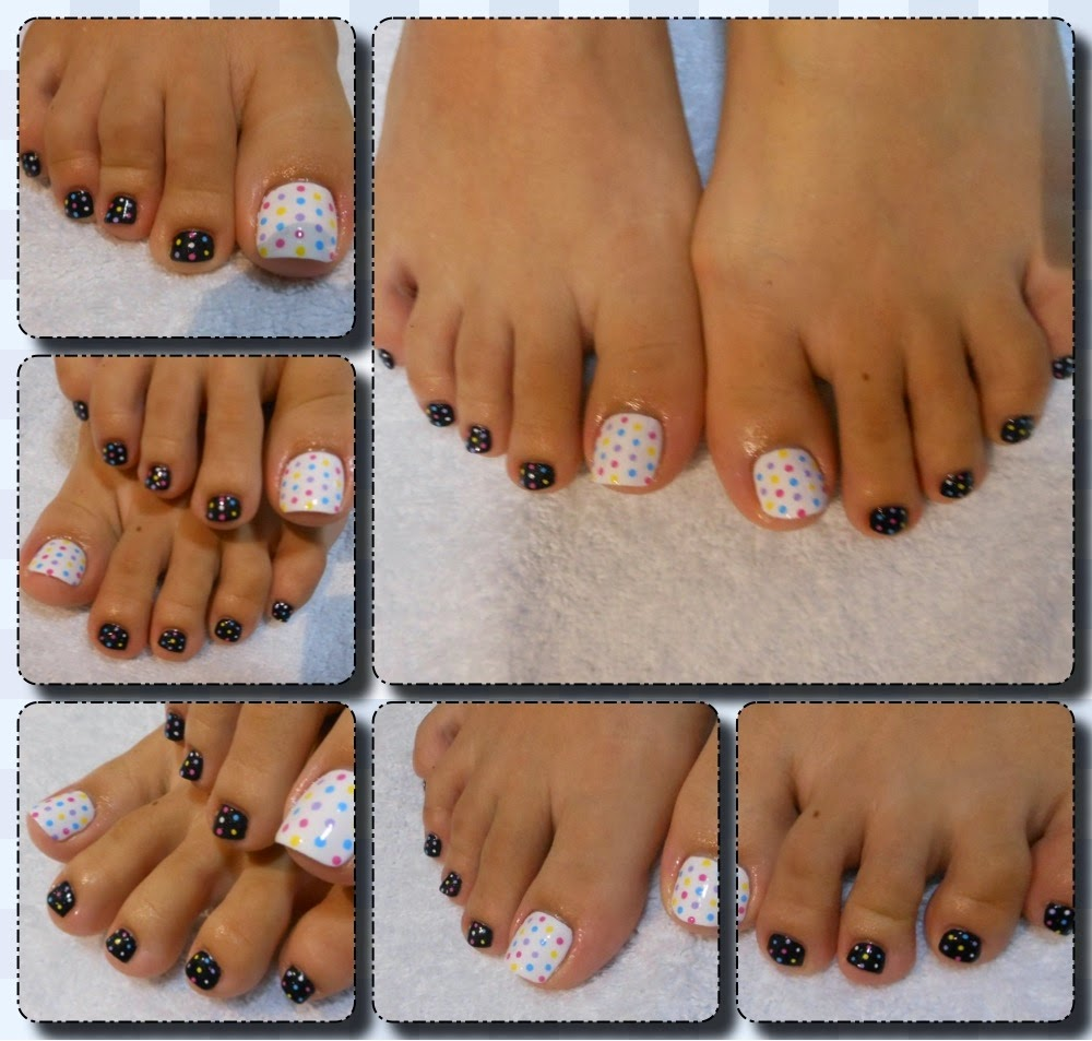 Toe nail designs black and white | Nail Art and Tattoo Design ...