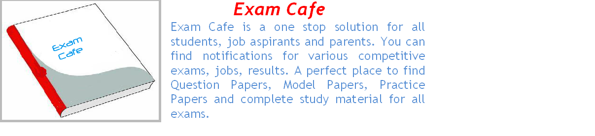 All India Exam Results 2014, Govt Jobs 2014 - Exam Cafe