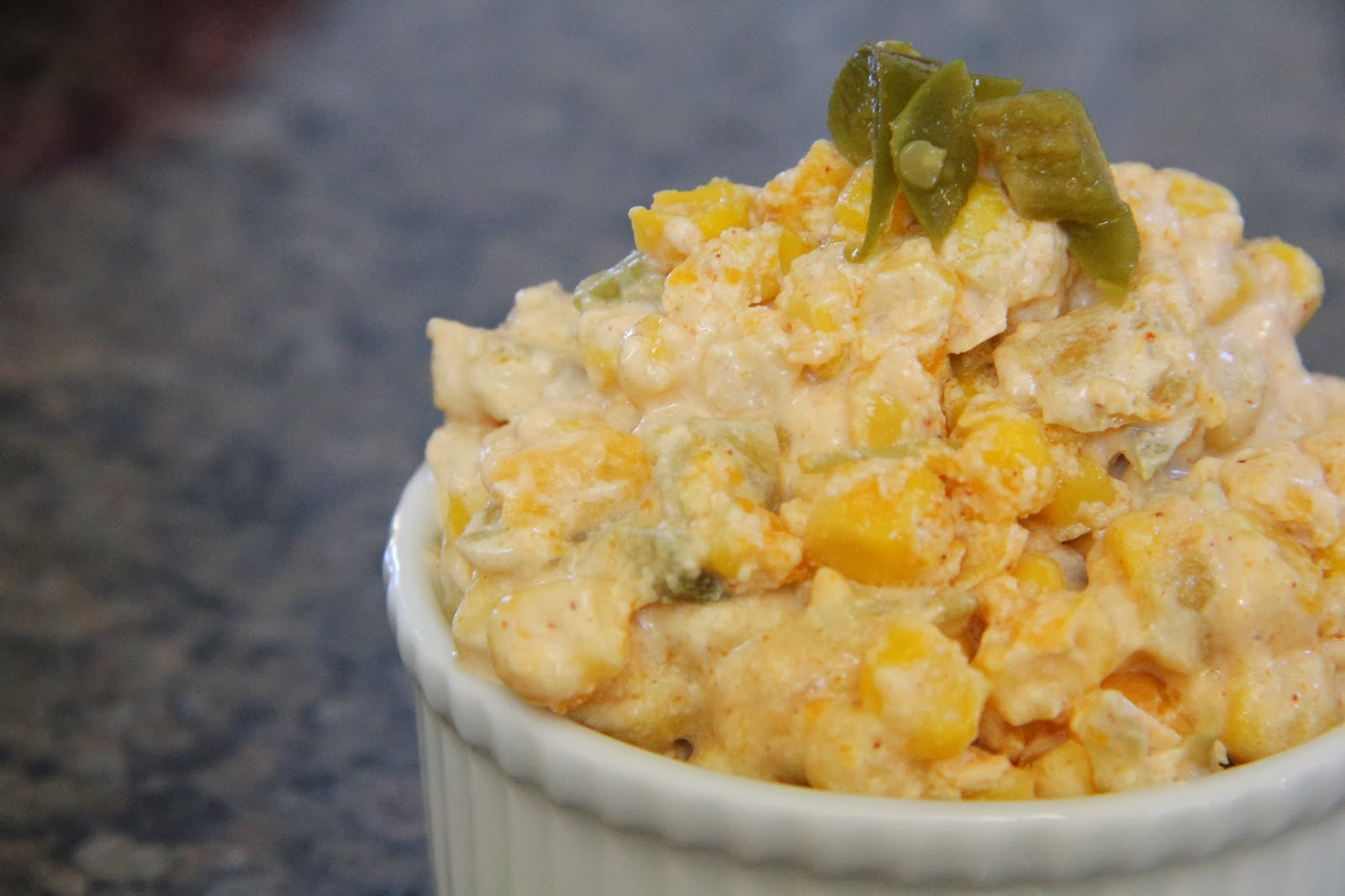 Spicy Corn Dip | Mix and Match Mama