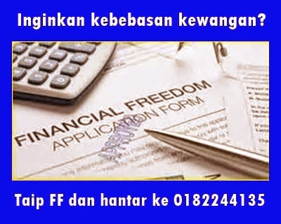 Inginkan kebebasan kewangan?