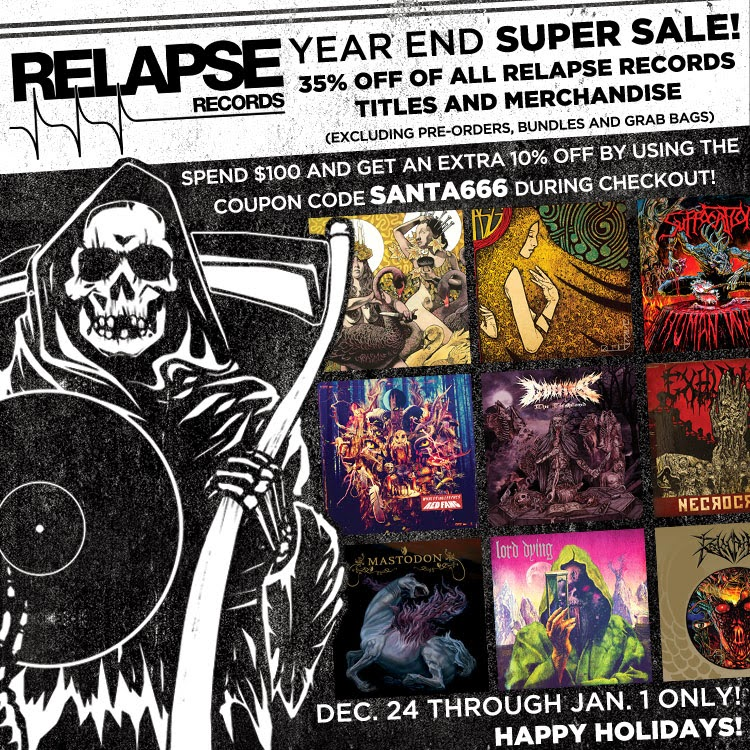 Buy Relapse Records Men's Tees Starts With $ Promo Codes and Coupons – There is an option where stores provide huge discount through coupons. So before you shop you should check the latest coupons from coupon stores like CouponPitara and many more Promo Code Stores you will find on Google. Popular Stores. Zivame Promo Codes 0 coupons.