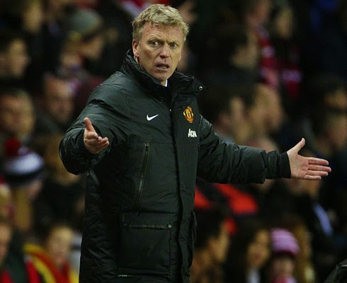 David Moyes Manchester United Manager 2014