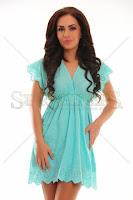 Rochie PrettyGirl Awaked Turquoise (PrettyGirl)