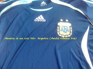 camiseta Argentina 2006