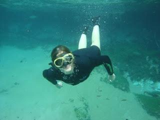Flutuação em Bonito-MS
