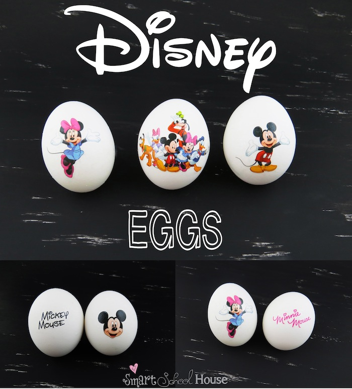 Disney Eggs by Smart School House  #disney #mickey #minnie