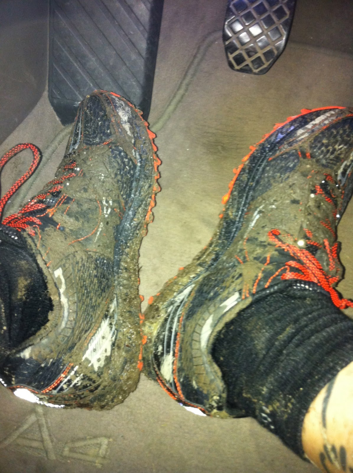 how to clean your shoes after a mud run