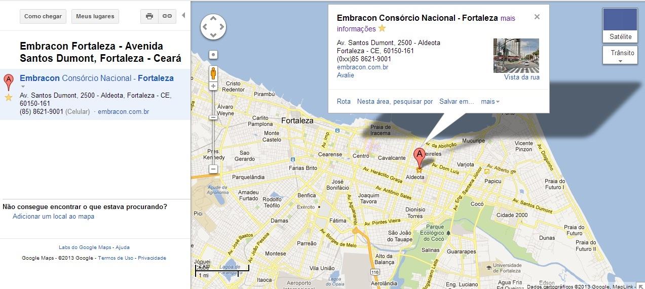 EMBRACON CONSÓRCIO NACIONAL - Fortaleza/CE